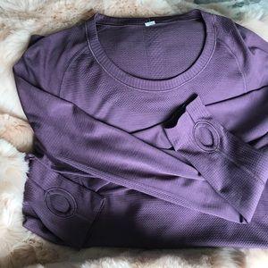 Swiftly long sleeve shirt, lululemon, size 12